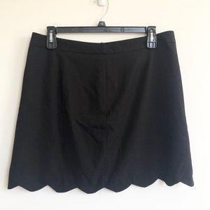 ASOS scalloped pencil skirt